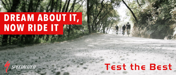 Test the Best with Specialized