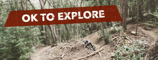 Explore on a mountain bike from B&L Bike Shop