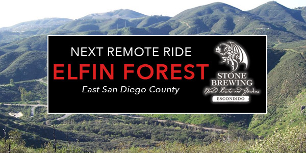 Elfin Forest Remote Ride