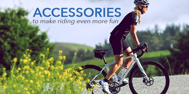 accessories to make bike riding even more fun