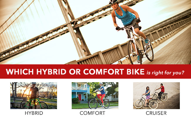 Which hybrid or comfort bike is right for you