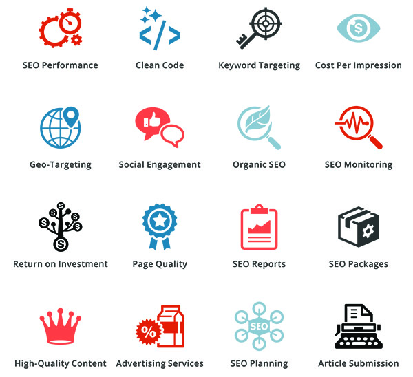 ENews Network Services Icons