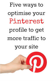 How to improve your pinterest profile in 15 minutes